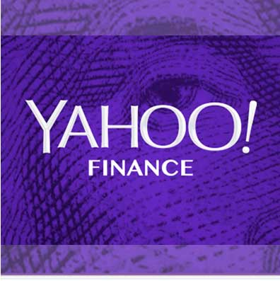 Yahoo Finance website
